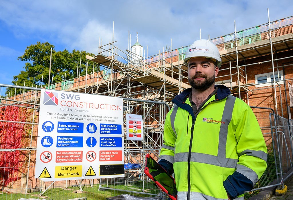 New roof for well-known Newtown building