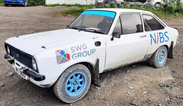 We're excited to be throwing our weight behind a promising rally team in Mid Wales