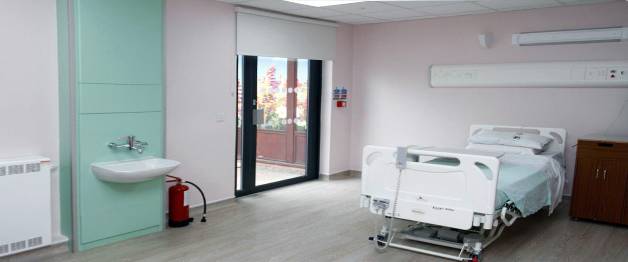 Palliative Care Suite, Llanidloes War Memorial Hospital