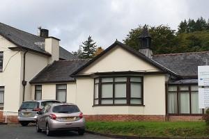 Relocation of medical records at Llanidloes War Memorial Hospital